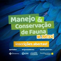 CURSO MANEJO E CONSERVAÇÃO DE FAUNA NA PRÁTICA