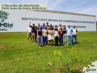 I REUNIÃO DE MONITORIA DO PAN AVES DA MATA ATLÂNTICA